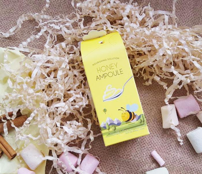 Esfolio Honey Ampoule Ампульный питательный медовый гель фото 5 | Sweetness