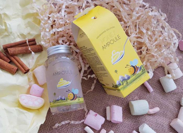 Esfolio Honey Ampoule Ампульный питательный медовый гель фото 6 | Sweetness