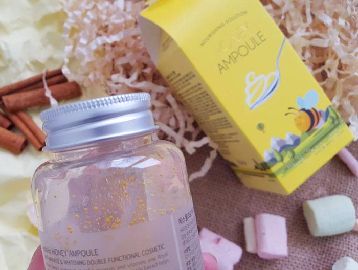 Esfolio Honey Ampoule Ампульный питательный медовый гель фото 7 | Sweetness