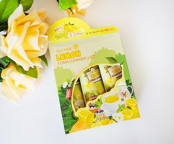 Esfolio Tea Time Lemon Foam Cleanser Пенка для умывания чай с лимоном фото 1 | Sweetness