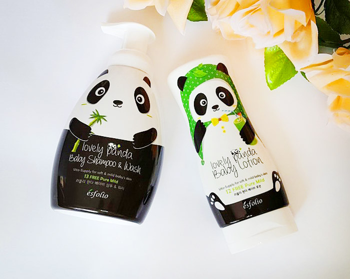 Esfolio Lovely Panda Baby Lotion Детский лосьон для тела Милая панда фото 2 | Sweetness