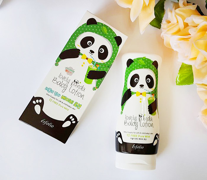Esfolio Lovely Panda Baby Lotion Детский лосьон для тела Милая панда фото 3 | Sweetness