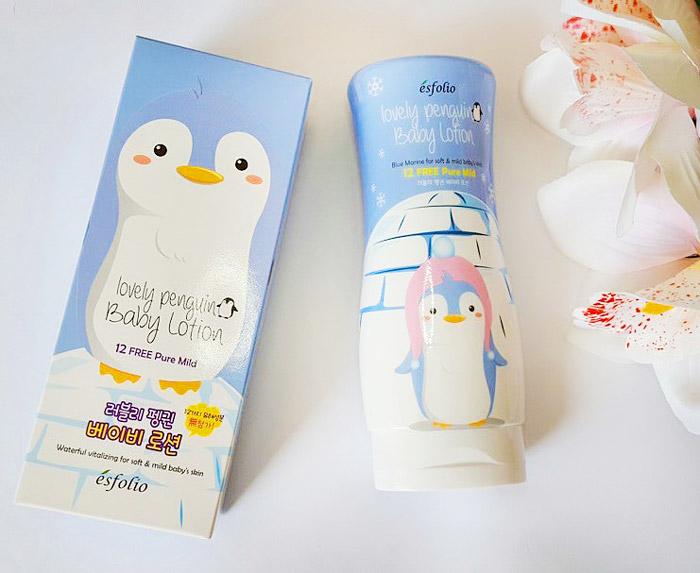 Esfolio Lovely Penguin Baby Lotion Детский лосьон для тела Милый пингвин фото 3   Sweetness