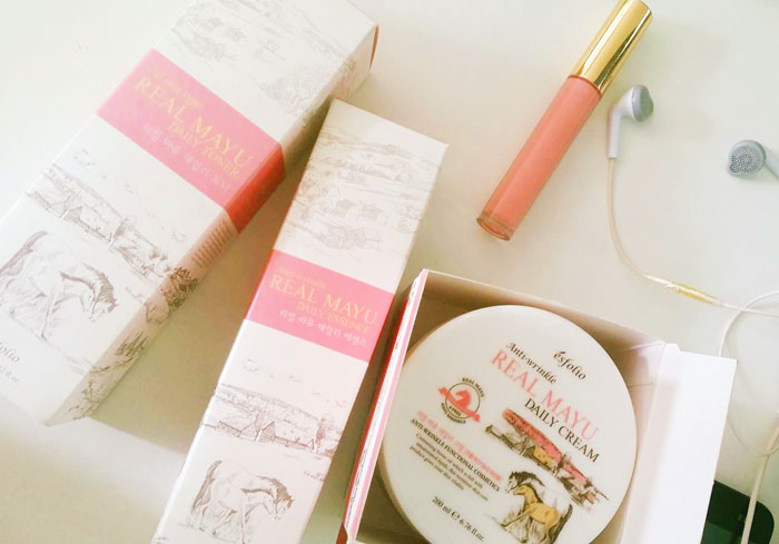 Esfolio Real Mayu Daily Toner Тонер с конским маслом фото 2 | Sweetness