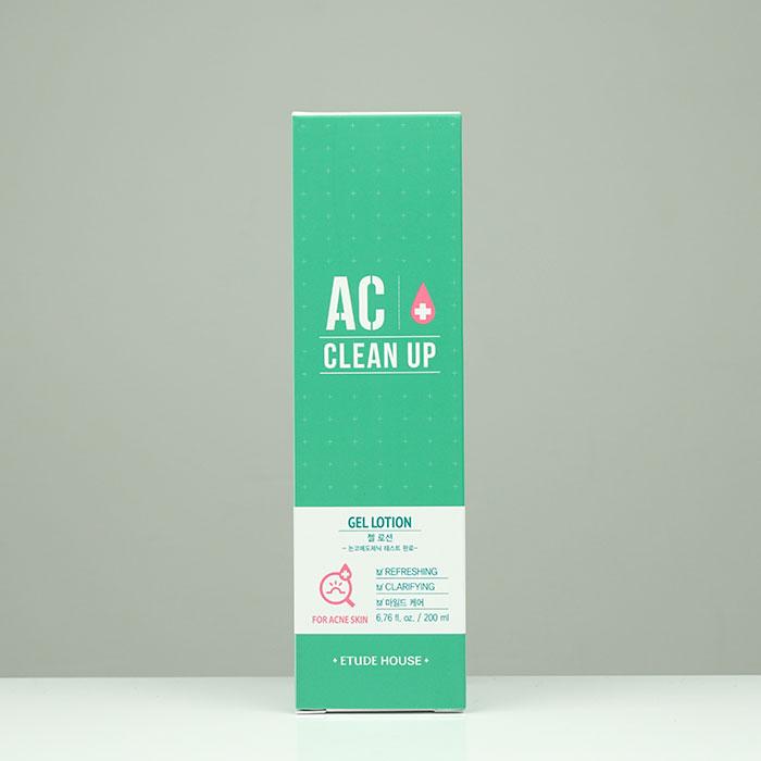 Etude House AC Clean-Up Gel Lotion Миниатюра гель-лосьона для проблемной кожи фото 1 / Sweetness