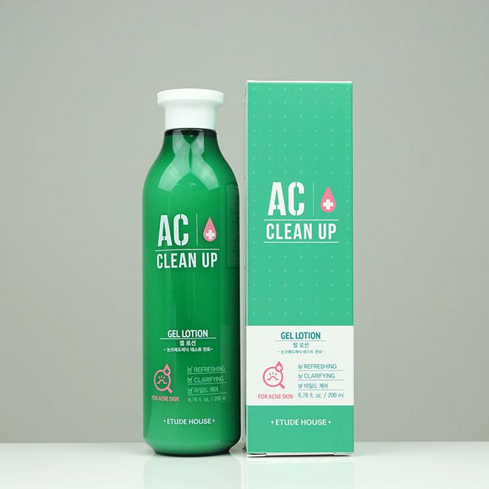 Etude House AC Clean-Up Gel Lotion Миниатюра гель-лосьона для проблемной кожи фото 2 / Sweetness
