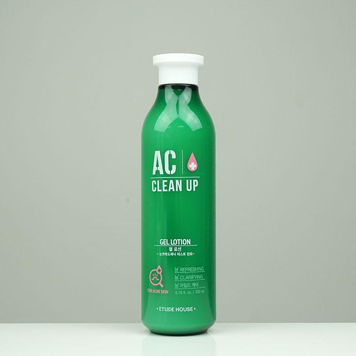 Etude House AC Clean-Up Gel Lotion Миниатюра гель-лосьона для проблемной кожи фото 3 / Sweetness