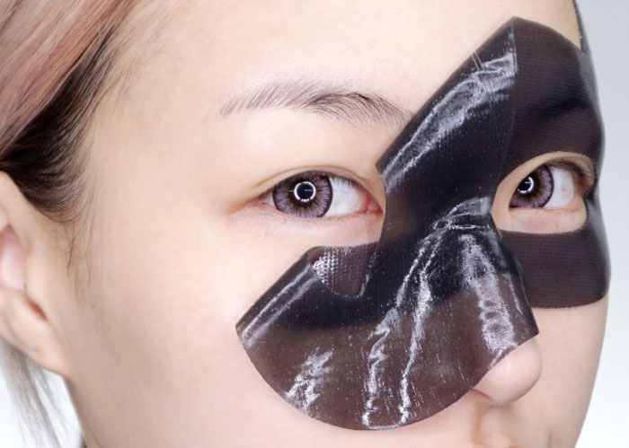 Etude House Black Hydrogel Eye Patch Черная гидрогелевая маска-патч для области вокруг глаз фото 8 | Sweetness