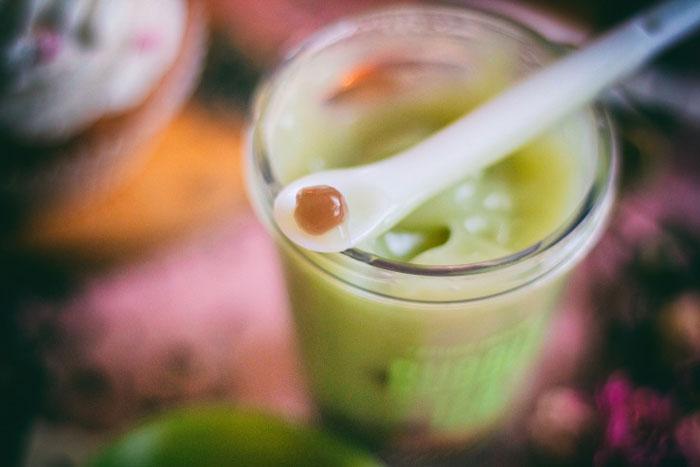 Etude House Bubble Sleeping Pack Green Tea Ночная очищающая маска с экстрактом зеленого чая фото 4 / Sweetness