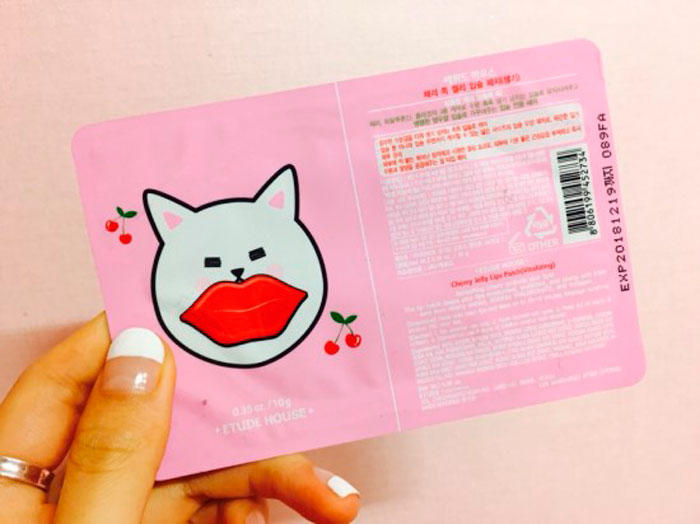 Etude House Cherry Jelly Lips Patch Glow-01 | Sweetness