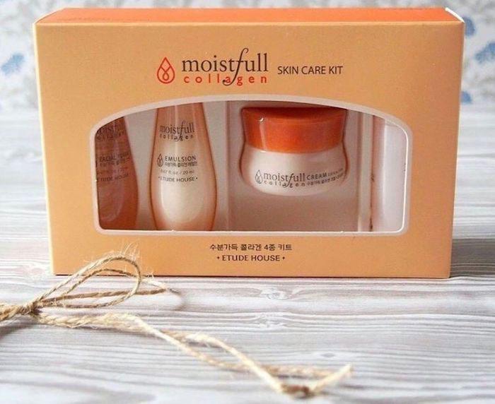 Etude House Moistfull Collagen Skin Care 4 Kit Набор миниатюр с коллагеном фото 1 / Sweetness