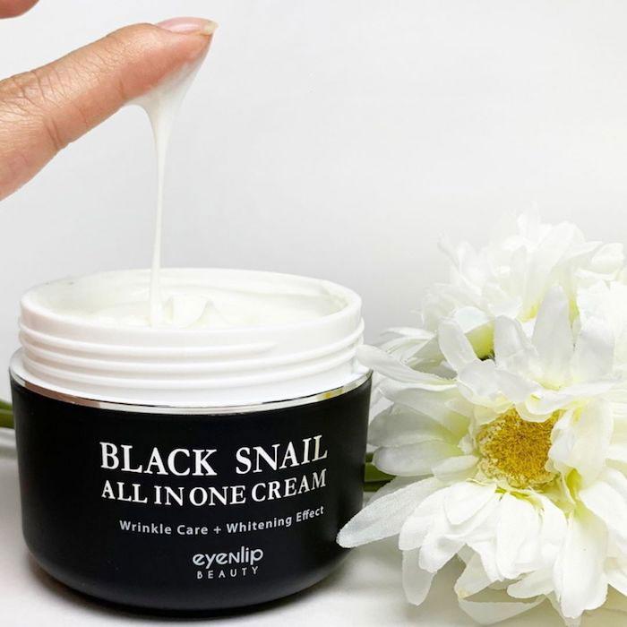 Восстанавливающий крем с черной улиткой Eyenlip Black Snail All In One Cream фото 3 | Sweetness