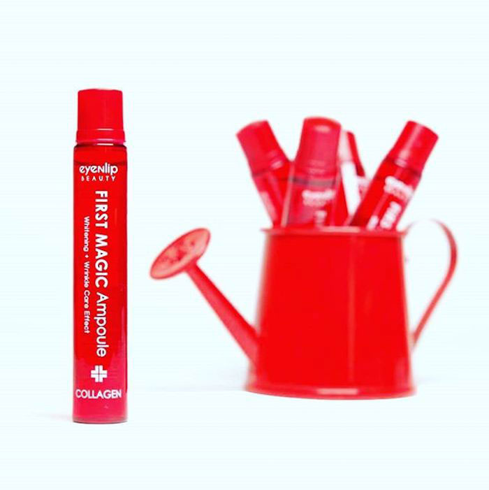 Сыворотка с коллагеном Eyenlip First Magic Ampoule Collagen фото 3 | Sweetness