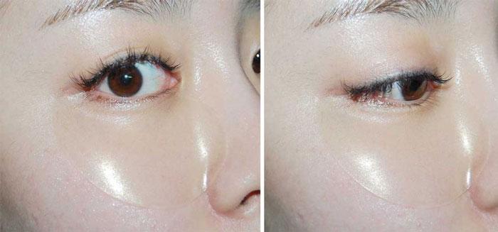 Гидрогелевые патчи с золотом и улиточным муцином Eyenlip Gold & Snail Hydrogel Eye Patch фото 8 | Sweetness