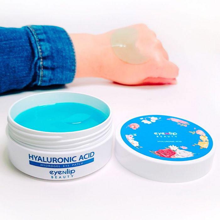 Гидрогелевые патчи с гиалуроновой кислотой Eyenlip Hyaluronic Acid Hydrogel Eye Patch фото 6 | Sweetness