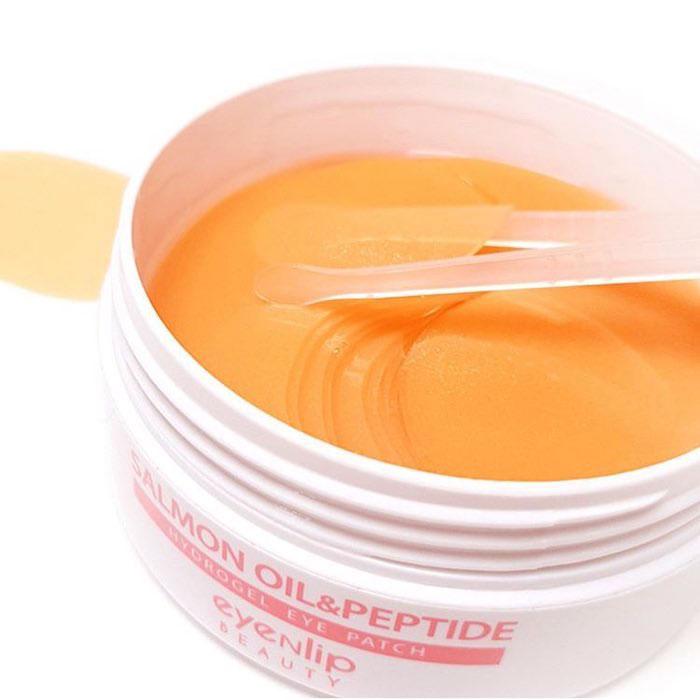 Гидрогелевые патчи с лососевым маслом и пептидами Eyenlip Salmon Oil & Peptide Hydrogel Eye Patch фото 4 | Sweetness