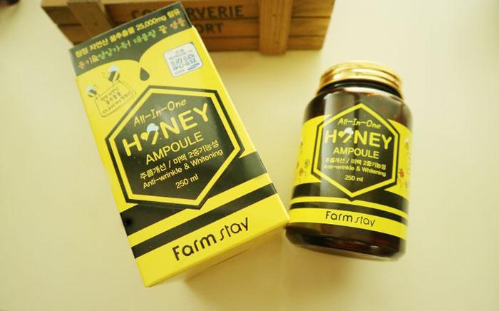 Многофункциональная медовая сыворотка-боченок Farmstay All In One Honey Ampoule фото 1 / Sweetness