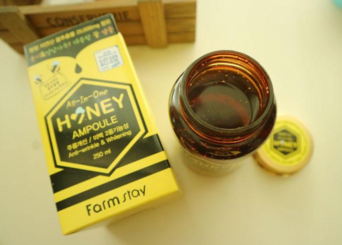 Многофункциональная медовая сыворотка-боченок Farmstay All In One Honey Ampoule фото 3 / Sweetness