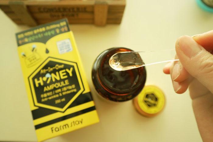 Многофункциональная медовая сыворотка-боченок Farmstay All In One Honey Ampoule фото 4 / Sweetness