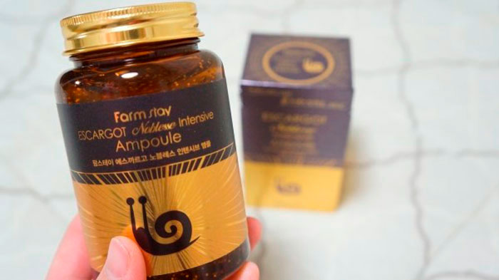 Сыворотка-боченок с улиточным муцином, 250мл. Farmstay Noblesse Intensive Ampoule фото 3 / Sweetness