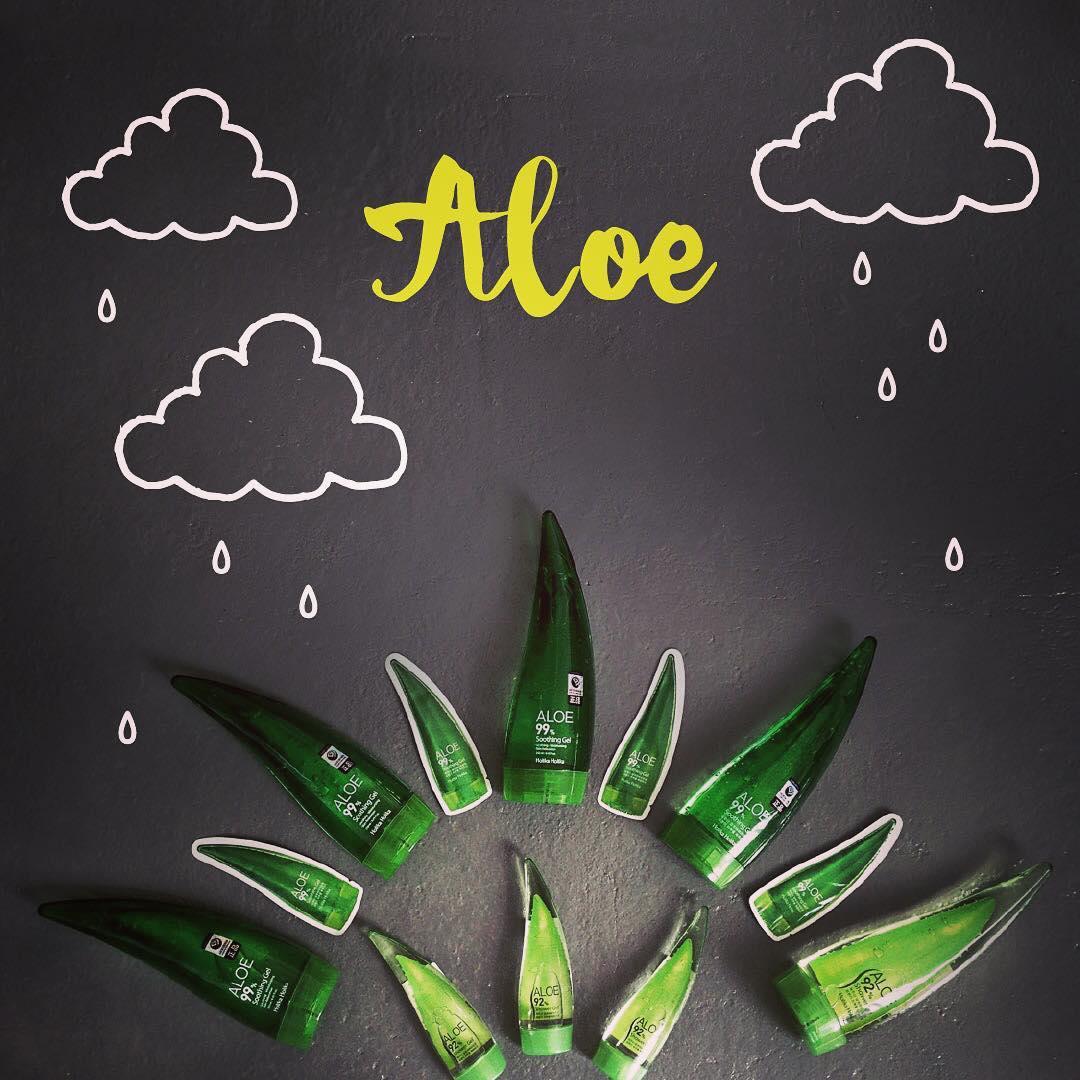 Пробники и миниатюры алоэ-геля Holika Holika Aloe 99% Soothing Gel | Sweetness