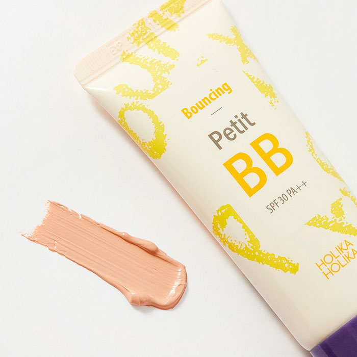 Holika Holika Bouncing Petit BB cream Отражающий BB крем для лица фото 3 / Sweetness