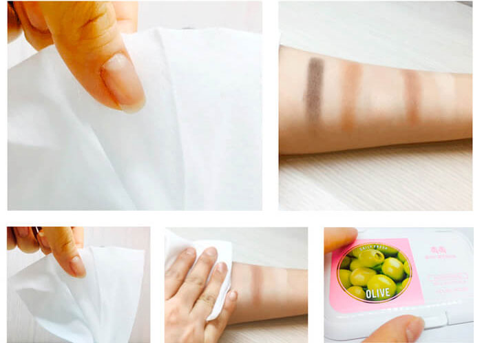 Holika Holika Daily Fresh Olive Cleansing Tissue Очищающие салфетки с маслом оливы фото 1 | Sweetness