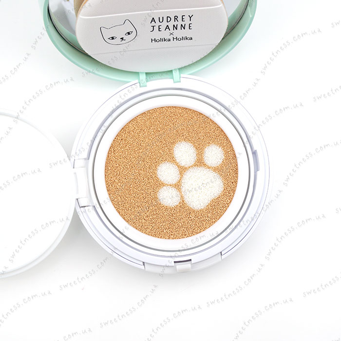 Кушон Holika Holika Face 2 Change DODO CAT Glow Cushion BB (DODO's Day Out) фото 5 | Sweetness