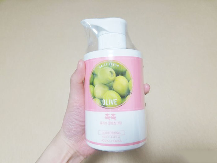 Holika Holika Daily Fresh Olive Cleansing Cream фото 2 | Sweetness