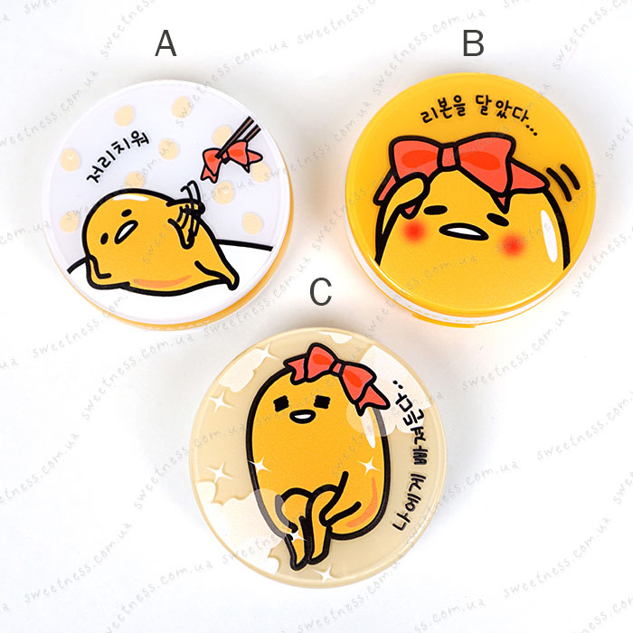 Holika Holika Gudetama Face 2 Change Photo Ready Cushion BB - CASE C фото 2 | Sweetness