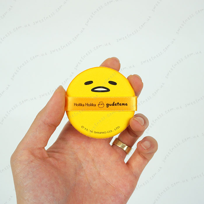 Holika Holika Gudetama Face 2 Change Photo Ready Cushion BB - CASE C фото 5 | Sweetness