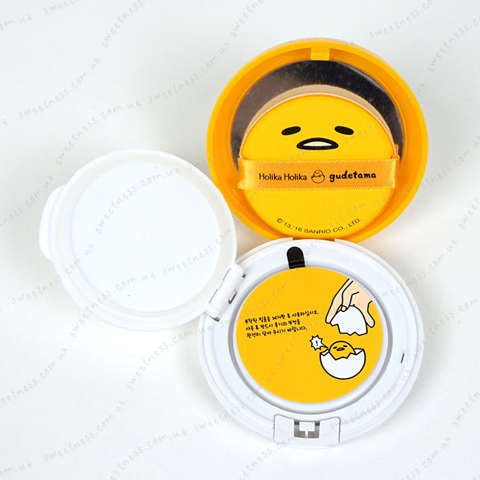 Holika Holika Gudetama Face 2 Change Photo Ready Cushion BB - CASE C фото 6 | Sweetness