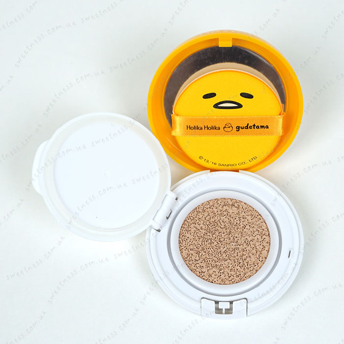 Holika Holika Gudetama Face 2 Change Photo Ready Cushion BB - CASE C фото 8 | Sweetness