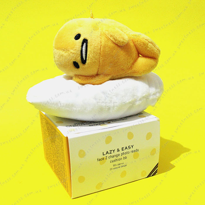 Holika Holika Gudetama Face 2 Change Photo Ready Cushion BB - CASE C оттенок 23, фото 1 | Sweetness