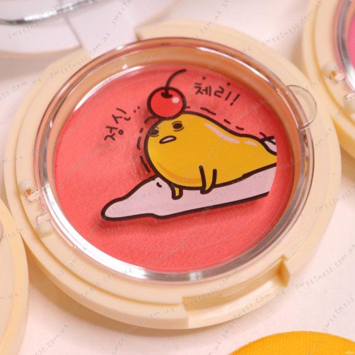 Holika Holika Gudetama Jelly Dough Blusher Желейно-кремовые румяна фото 19 | Корейская косметика Sweetness