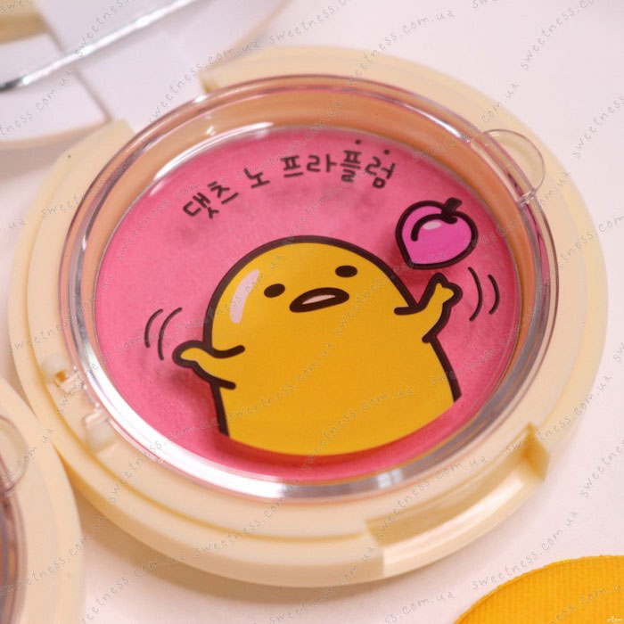Holika Holika Gudetama Jelly Dough Blusher Желейно-кремовые румяна фото 20 | Корейская косметика Sweetness