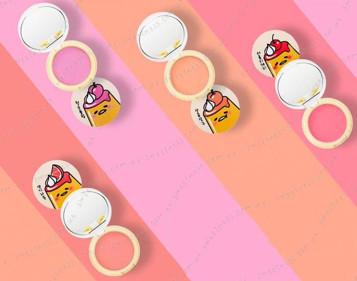 Holika Holika Gudetama Jelly Dough Blusher Желейно-кремовые румяна фото 22 | Корейская косметика Sweetness