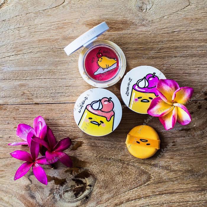 Holika Holika Gudetama Jelly Dough Blusher Желейно-кремовые румяна фото 1 23 Корейская косметика Sweetness