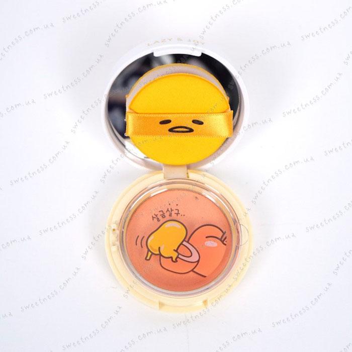 Holika Holika Gudetama Jelly Dough Blusher Желейно-кремовые румяна фото 5 | Корейская косметика Sweetness