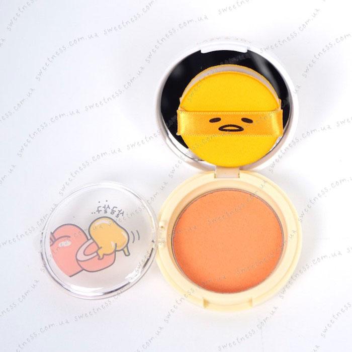 Holika Holika Gudetama Jelly Dough Blusher Желейно-кремовые румяна фото 6 | Корейская косметика Sweetness