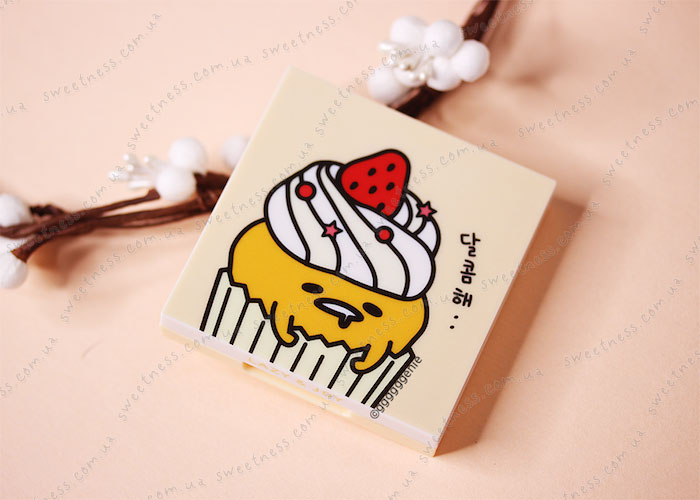 Holika Holika Gudetama Eye Shadow Kit Палетка теней для век 01 Red Velvet – красный вельвет фото 1 | Корейская косметика Sweetness