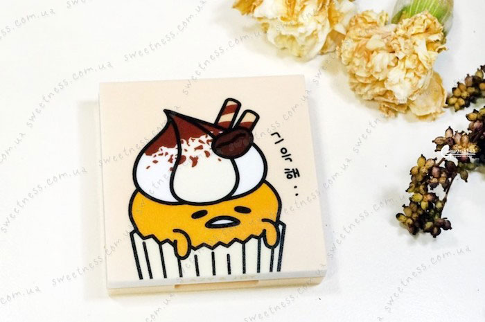 Holika Holika Gudetama Eye Shadow Kit Палетка теней для век 02 Tiramisu – тирамису фото 1 | Корейская косметика Sweetness