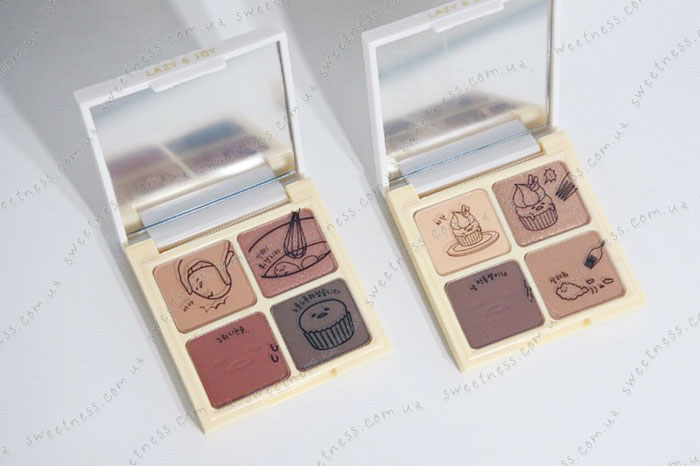 Holika Holika Gudetama Eye Shadow Kit Палетка теней для век фото 2 | Корейская косметика Sweetness