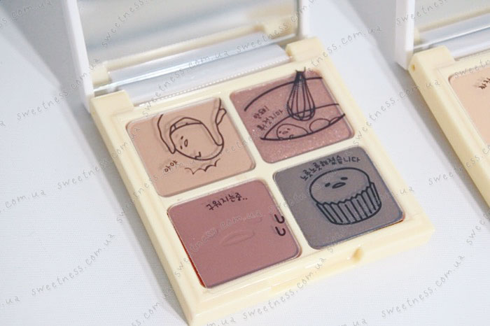 Holika Holika Gudetama Eye Shadow Kit Палетка теней для век фото 3 | Корейская косметика Sweetness