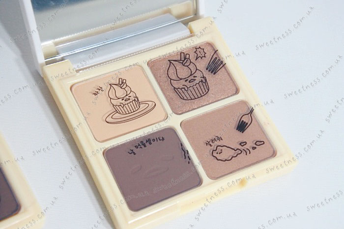 Holika Holika Gudetama Eye Shadow Kit Палетка теней для век фото 4 | Корейская косметика Sweetness