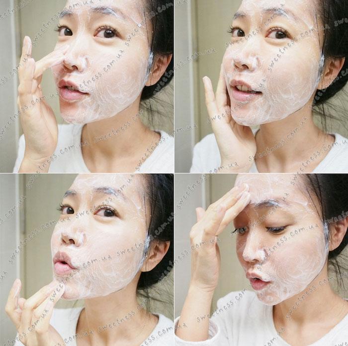 Holika Holika Gudetama White Mousse Foam Пенка для умывания-мусс для умывания фото 12 | Корейская косметика Sweetness