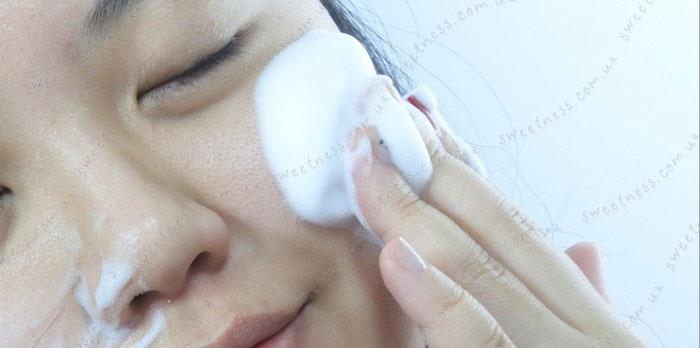 Holika Holika Gudetama White Mousse Foam Пенка для умывания-мусс для умывания фото 5 | Корейская косметика Sweetness