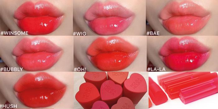 Holika Holika Heart Crush Glow Tint Air 02 Wig Тинт для губ фото 6 / Sweetness