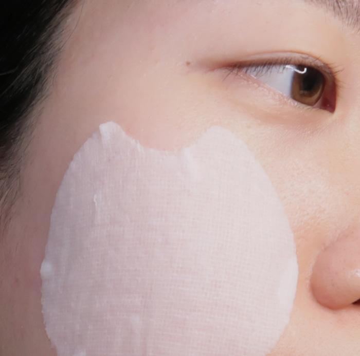 Диски для чувствительной кожи Holika Holika Less On Skin Essence Pad фото 6   Корейская косметика Sweetness