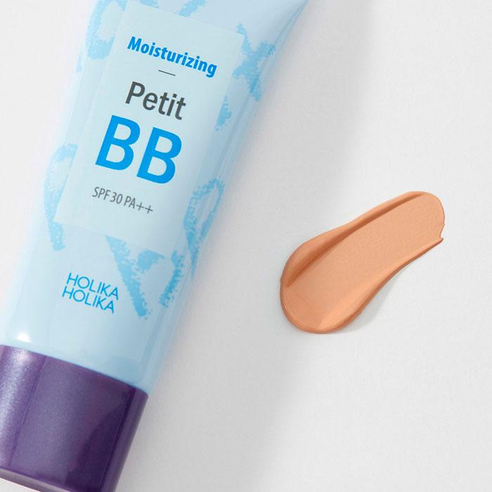 Holika Holika Moisturizing Petit BB Cream SPF30 PA++ Увлажняющий BB-крем с гиалуроновой кислотой фото 3 / Sweetness